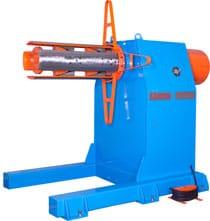 hydraulic single head decoiler
