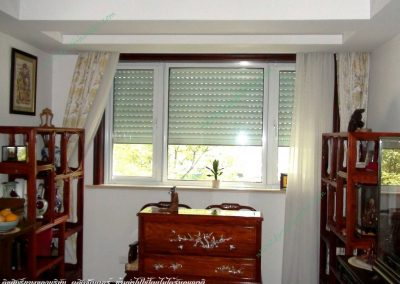 หน้าต่างประตูม้วน double layer 55A