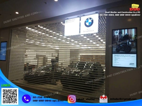 ประตูม้วนในห้าง BMW iconsiam