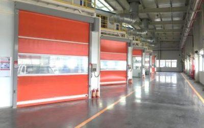 ประตูม้วนผ้าใบ ประตูม้วน pvc ยอดนิยมของโรงงานทั่วประเทศไทย !