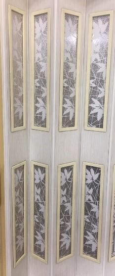 ฉากกั้นห้องญี่ปุ่น พลาสติก กระจกอะคริลิคแบบขุ่นมีลวดลาย