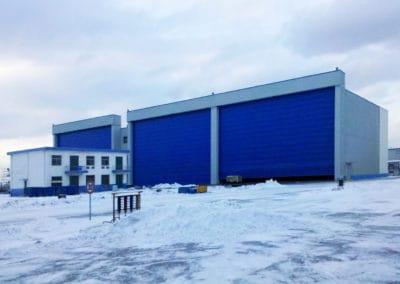 ประตูฮังก้า ดอร์ สีน้ำเงิน ขนาดใหญ่