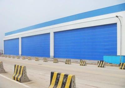 ประตูฮังก้า ดอร์ สีน้ำเงิน