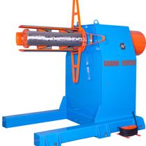 hydraulic single head decoiler